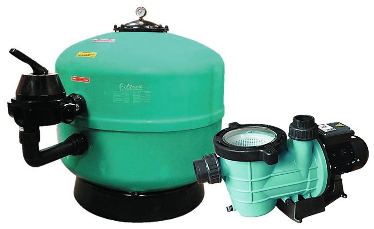 Filtrex 710 1HP Streamer szivattyú 18m3/h
