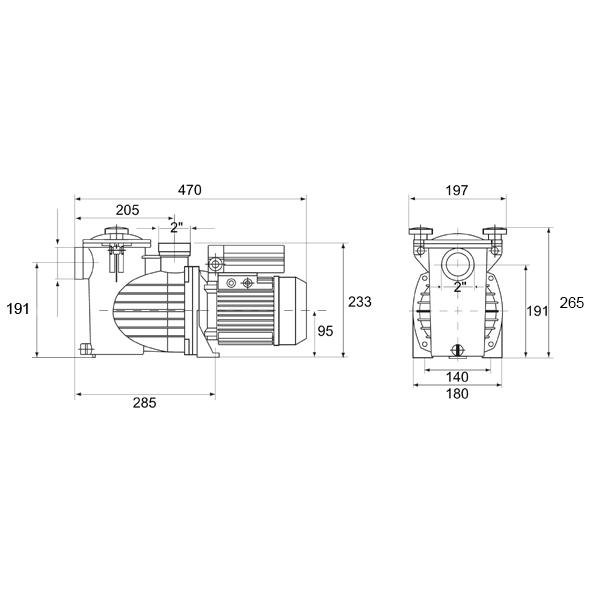 Filtrex 450 - OPTIMA 50 7,0m3/h