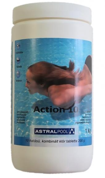 ACTION 10 tabletta 1 kg