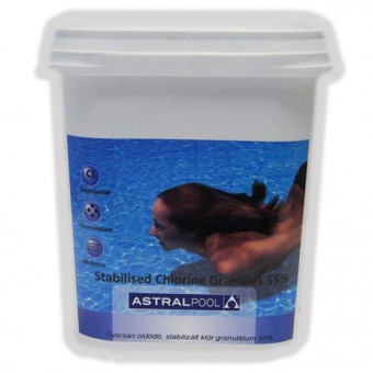 ASTRAL POOL klórgranulátum 5kg